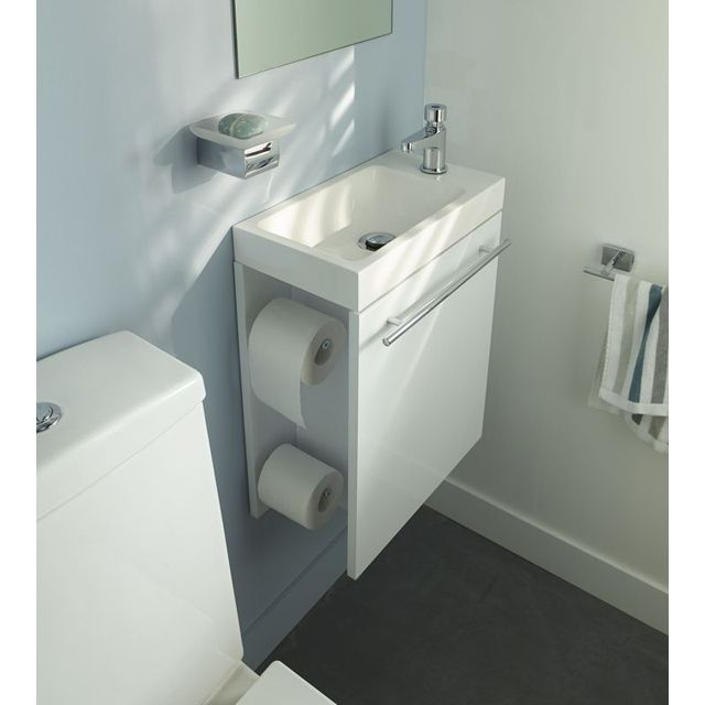 Pack lave mains malte castorama home dream shower bathroom pinterest lave main wc - Meuble lavabo wc ...