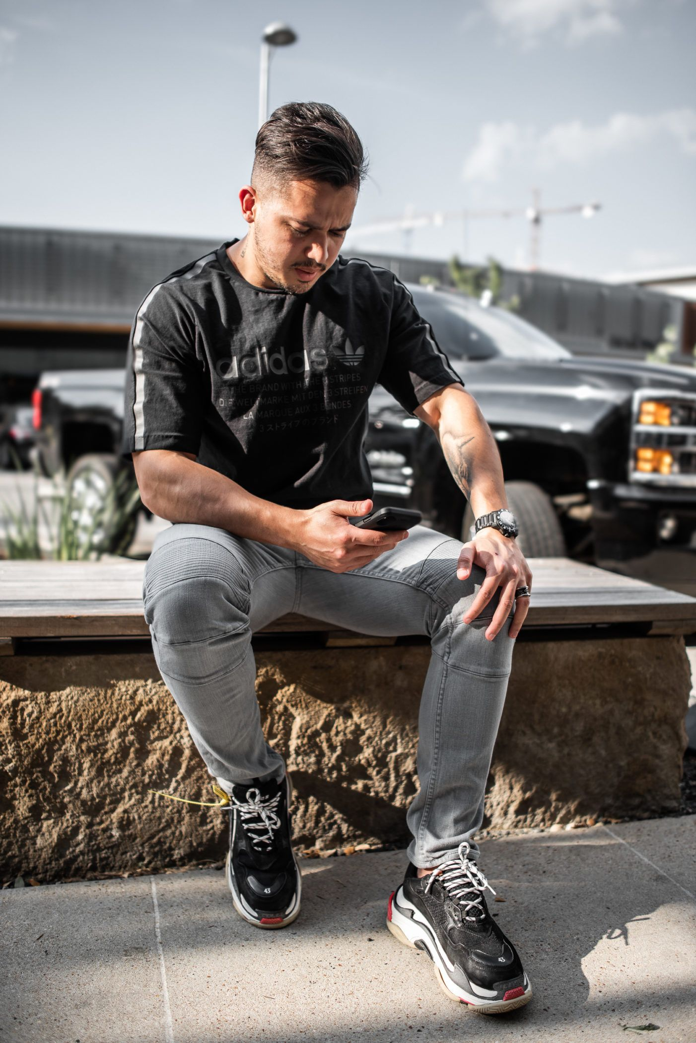 Men's Adidas Street Style With