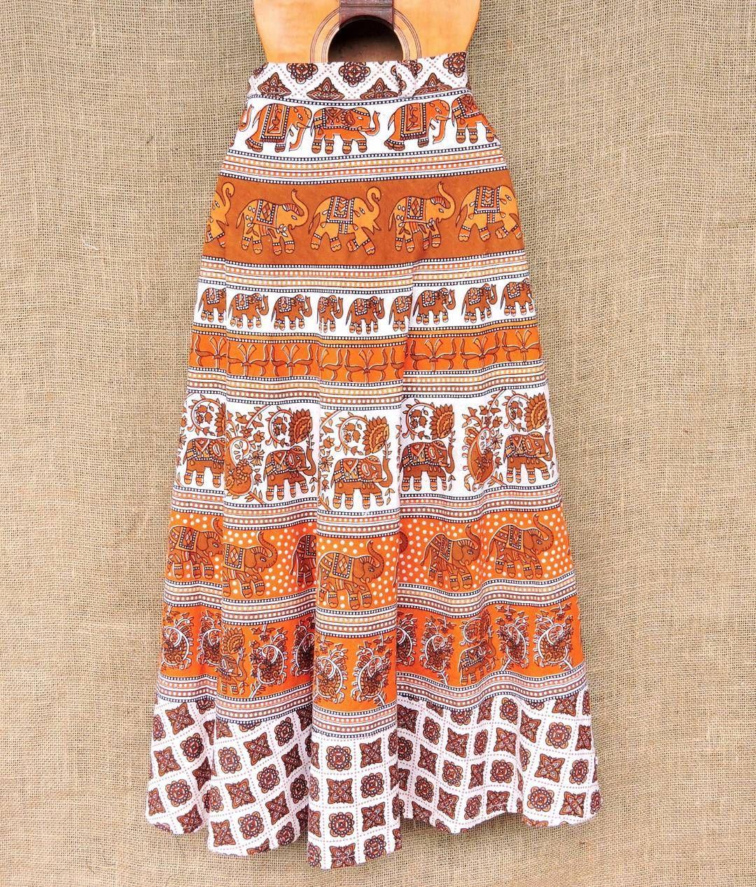 26becf1939 Saias indianas envelope. Estampas lindas e artesanais em algodão. Saiba  mais pelo nosso Whatsapp
