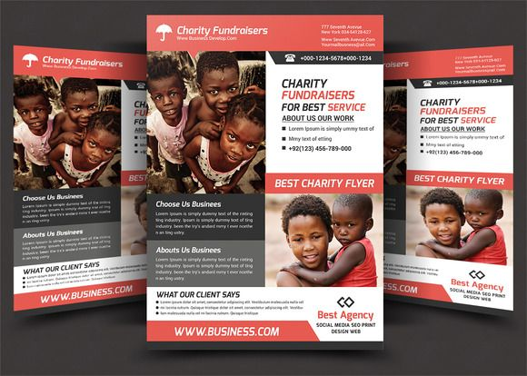 charity flyer by afzaalgraphics on creativemarket work flyer