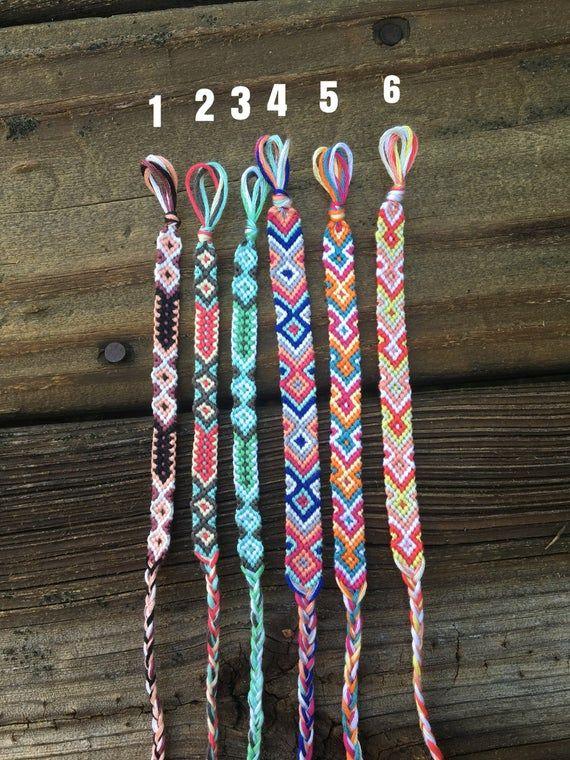 Arrow//Aztec Friendship Bracelet #easyfriendshipbraceletpatterns