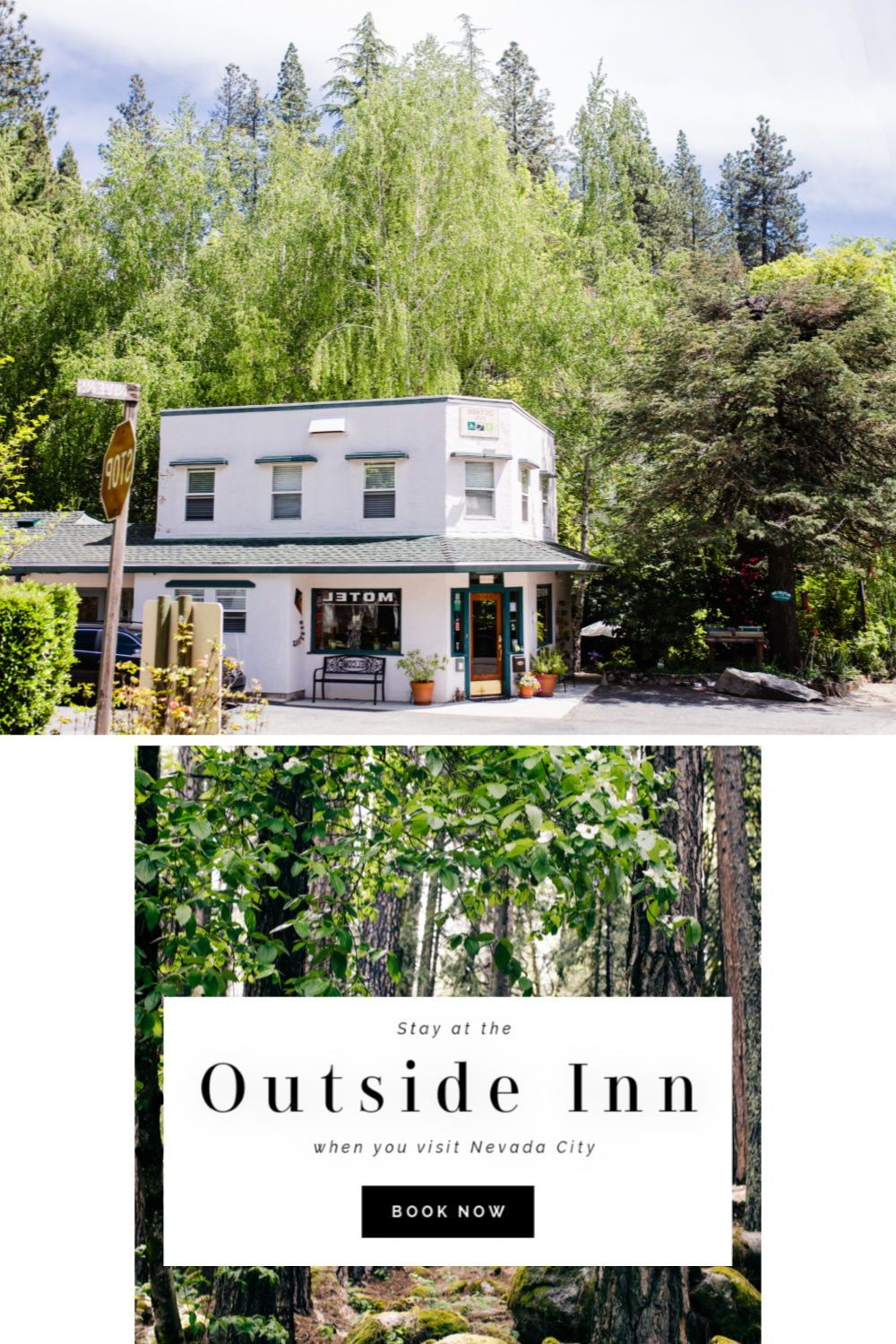 The Outside Inn Lodging In Nevada City California In 2020 Nevada City Visit Nevada Small Hotel