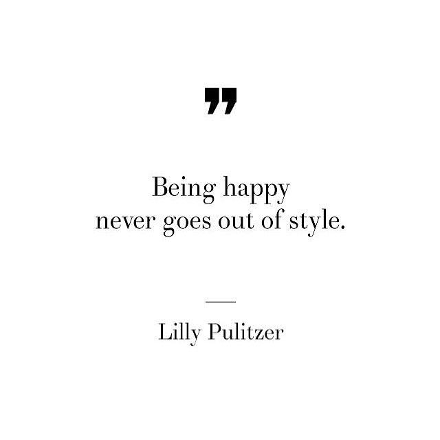 Choose happiness  #Moddeals #BeHappy #LillyPulitzer #happiness #qotd