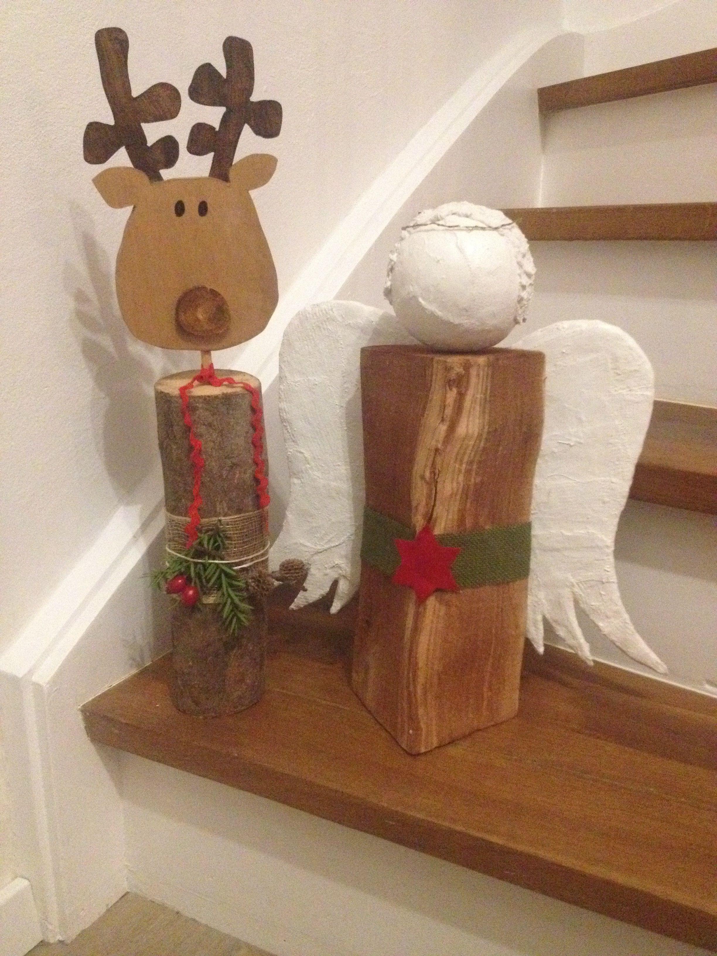 engel rentier holz susi s bunte bastelecke pinterest weihnachten basteln weihnachten. Black Bedroom Furniture Sets. Home Design Ideas