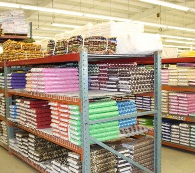 Warehouse manufacturing quilts
