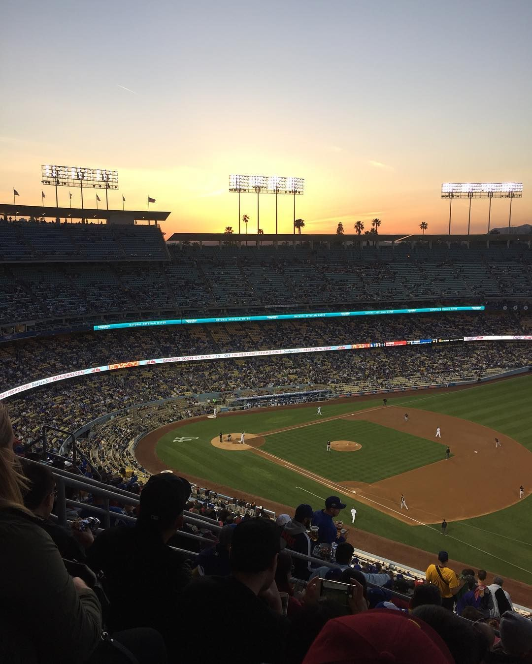THINK BLUE:  Dodgers ...lost  by padelynpoolz