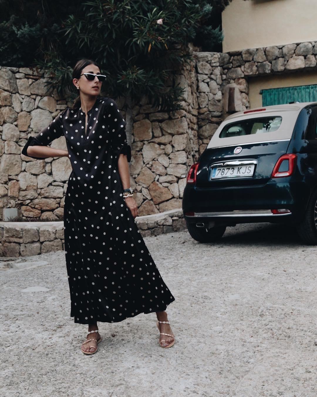 b3f0fa8d286 Ganni street style | Julia Haghjoo | Cameron Maxi Dress | STREET ...
