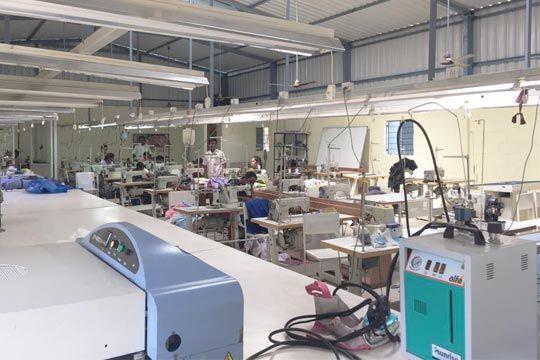 Clothing Designer Portfolio Portfolio Design Factory Interior Garment Manufacturing