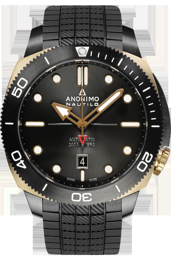 e23c4a2bffa La Cote des Montres   Les nouvelles montres Anonimo Militare Classic et  Nautilo - Le retour en force du design horloger italien