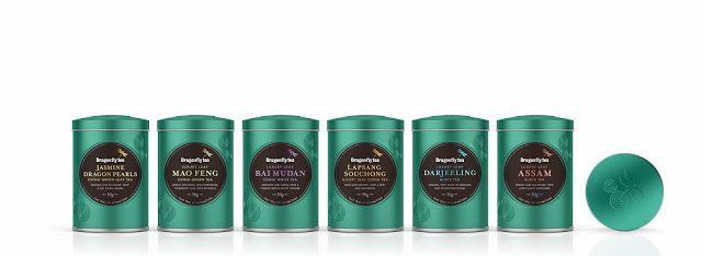 Dragonfly Teas on Packaging of the World - Creative Package Design Gallery