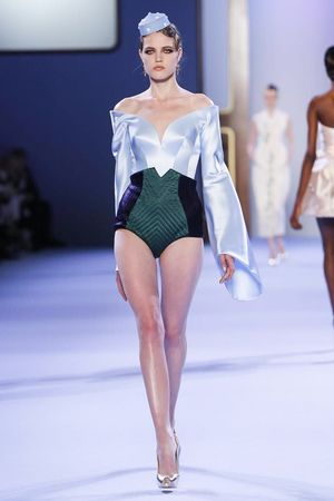 Ulyana Sergeenko Haute Couture Spring Summer 2014 Paris - NOWFASHION
