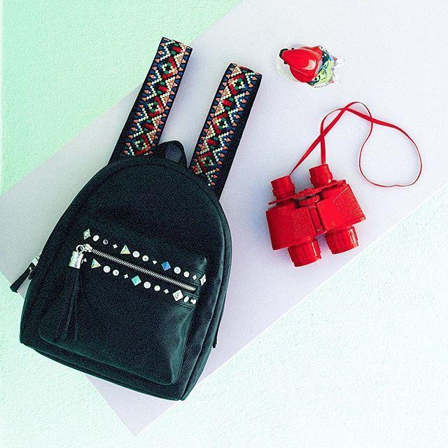 Mochila BARBARA   #leather #bags #shoes #jacket #desing #handmade #fashion #black