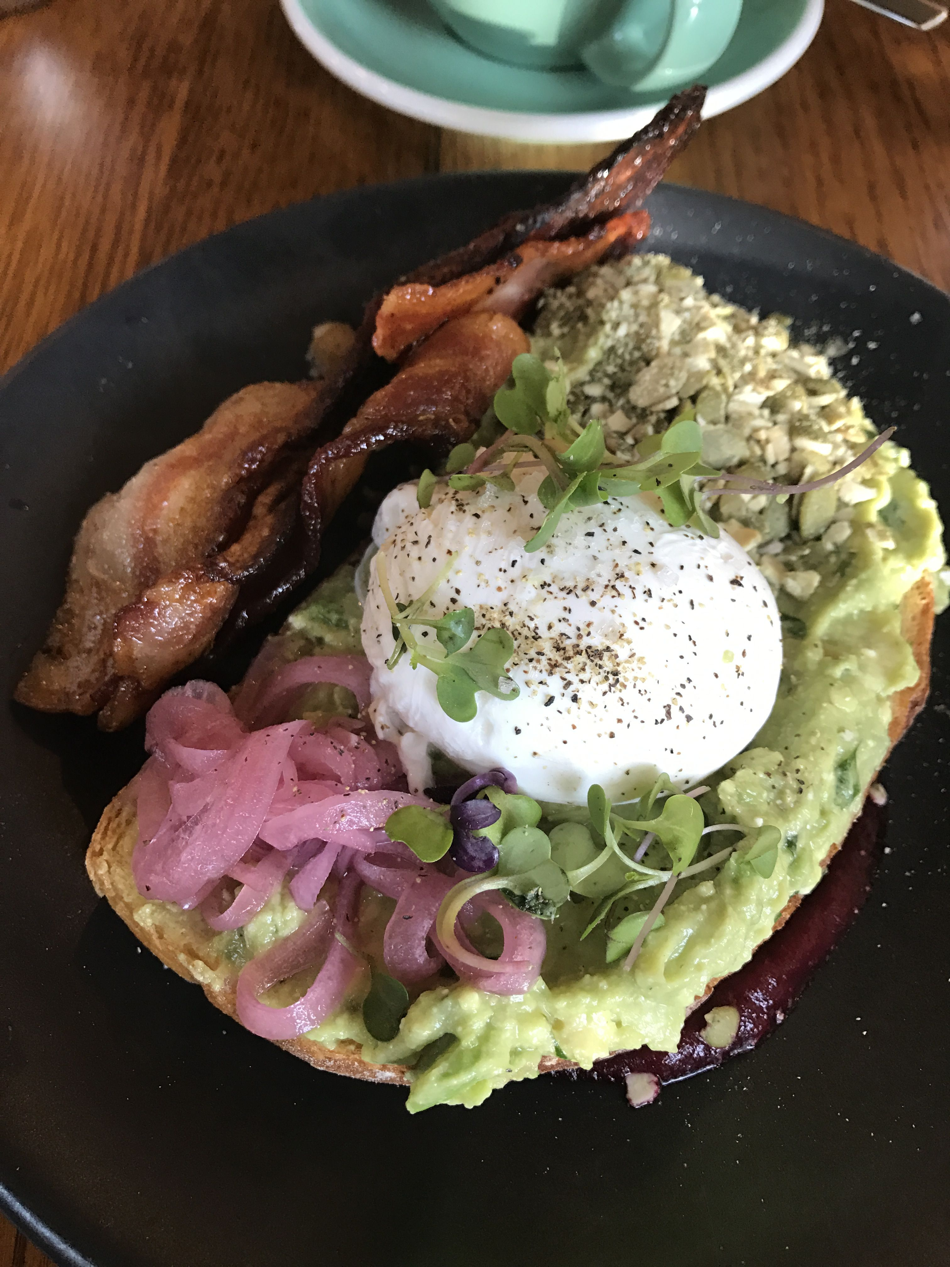 The best avocado toast at Citizens in Chelsea, NYC