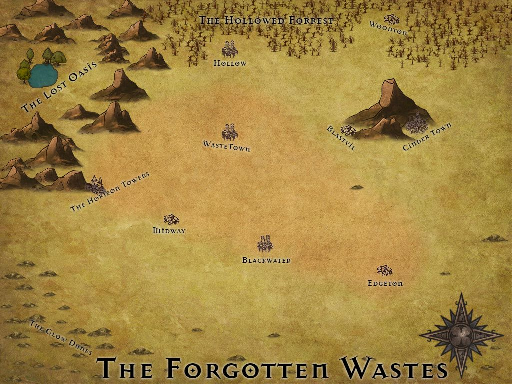 The Forgotten Wastes, A Mad Max inspired world | My Maps in ... on alien map, the dark knight rises map, a bridge too far map, h1z1 map, pillars of eternity map, smokey and the bandit map, superhero movie map, axiom verge map, bloodborne map, the hunger games map, mortal kombat x map, hohokum map, the elder scrolls online map, the lego movie map, max payne 3 map, state of decay map, evolve map, rage map, batman map,