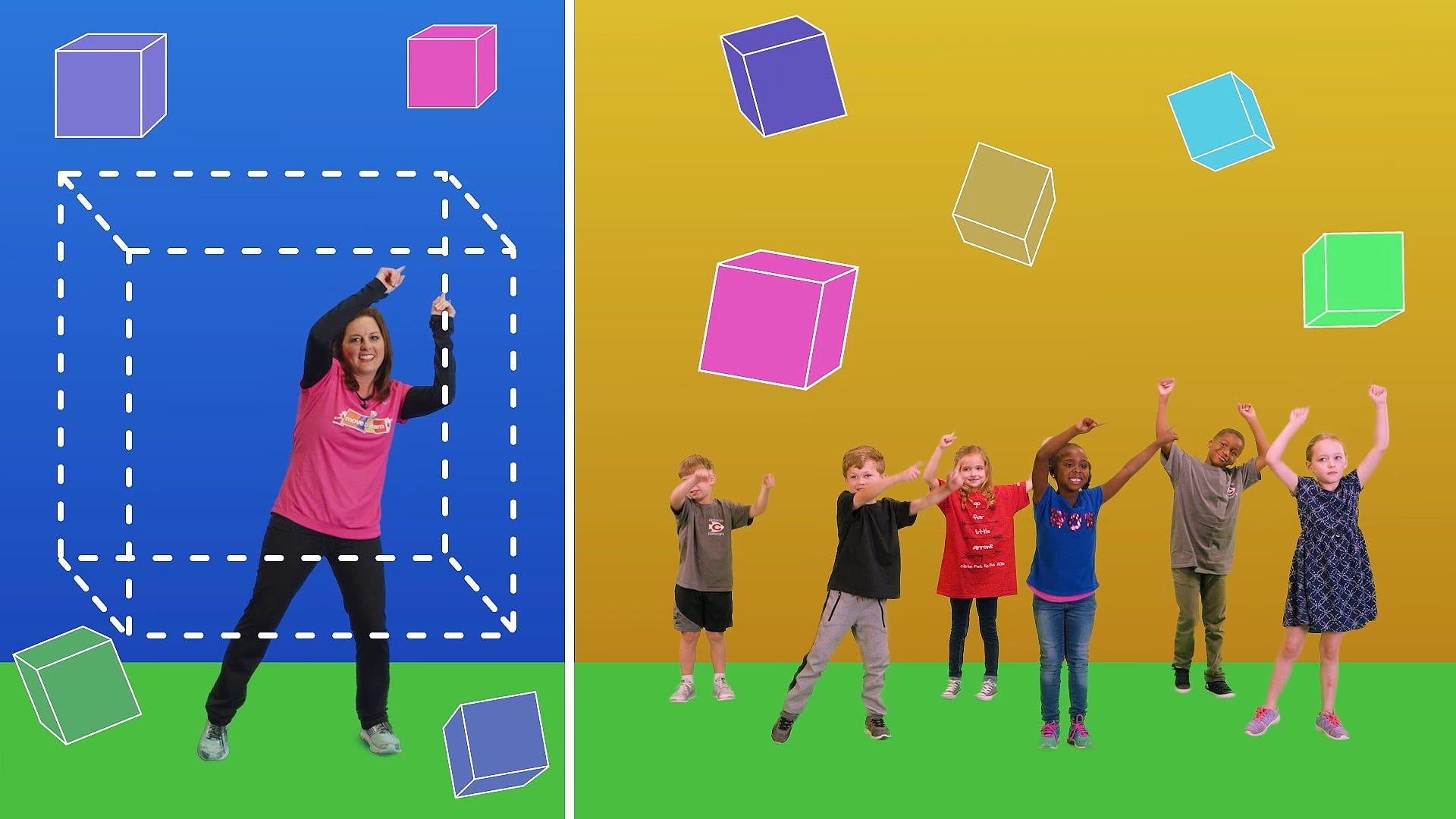Shape Shifting Pre K Shapes New In
