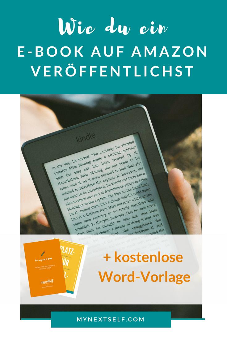 E-Book auf Amazon veröffentlichen: So geht\'s | Schreiben, Autor ...