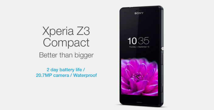 Sony Mocks Iphone 6 In Xperia Z3 Compact Ad Better Than Bigger