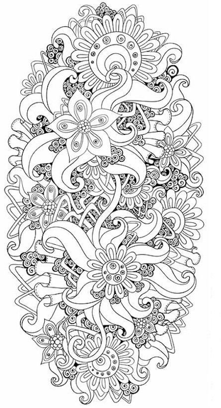 Pin de Lee Buchanan en coloring book | Pinterest | Mandalas ...