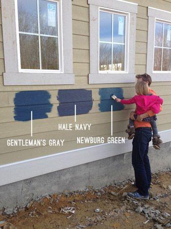 Picking An Exterior Paint Color Exterior Paint Colors