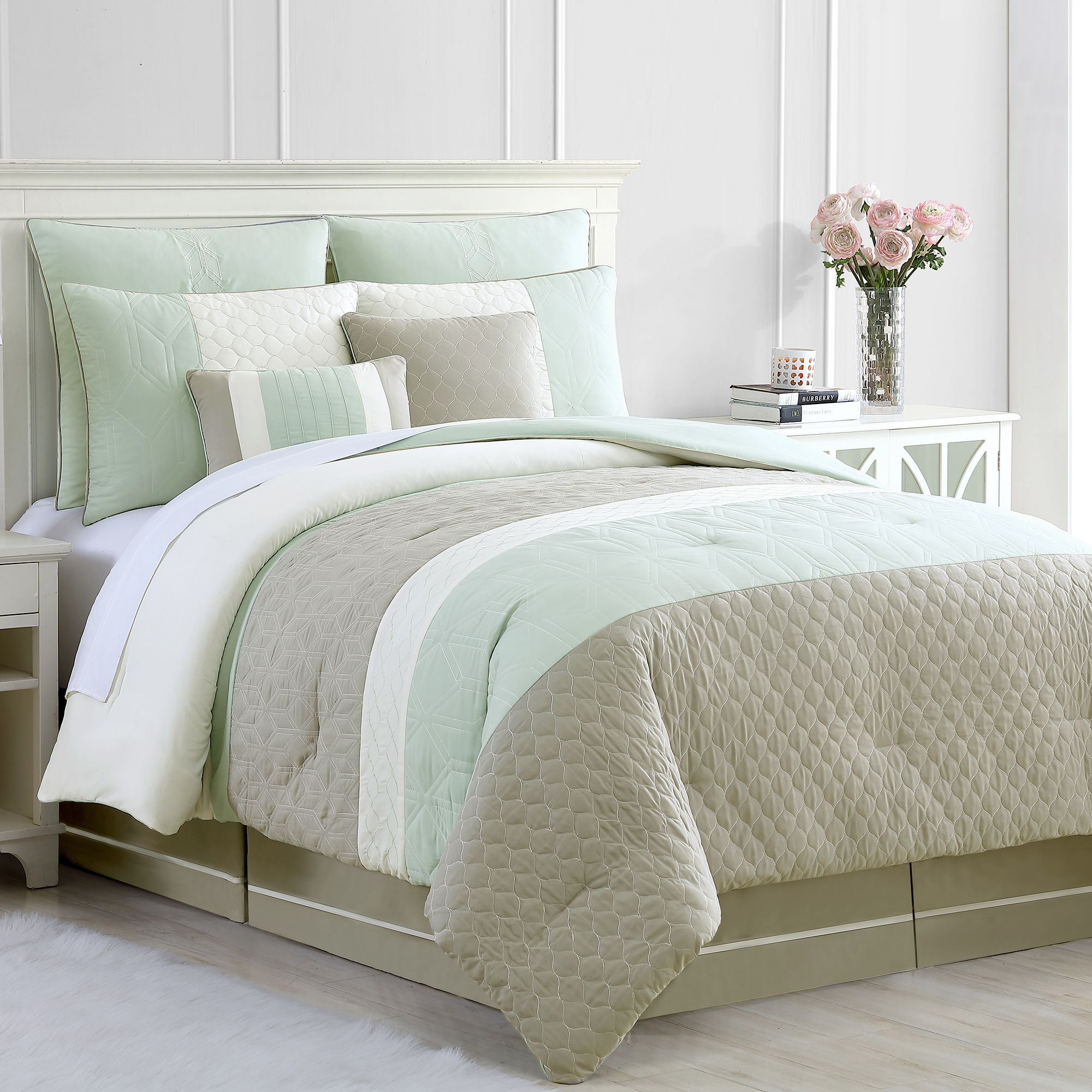 farmhouse comforter set walmart