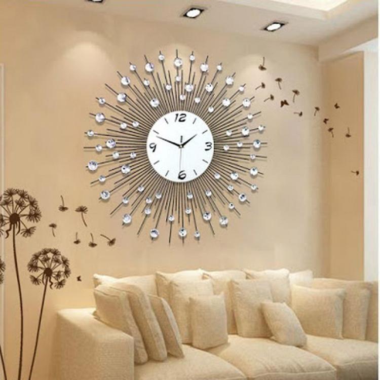 Luxury Wall Art Clock Designs Dekorasi Ruang Tamu Inspirasi Rumah