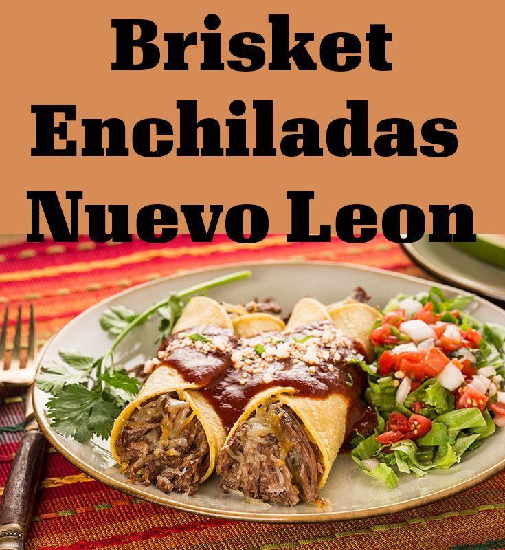 Garlic Beef Enchiladas Recipe: Brisket Enchiladas Nuevo Leon