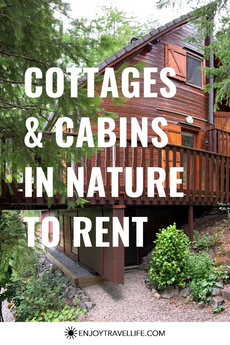 Cottages Cabins In Nature To Rent Nature House In 2020 House In Nature Travel Accommodations Sustainable Travel