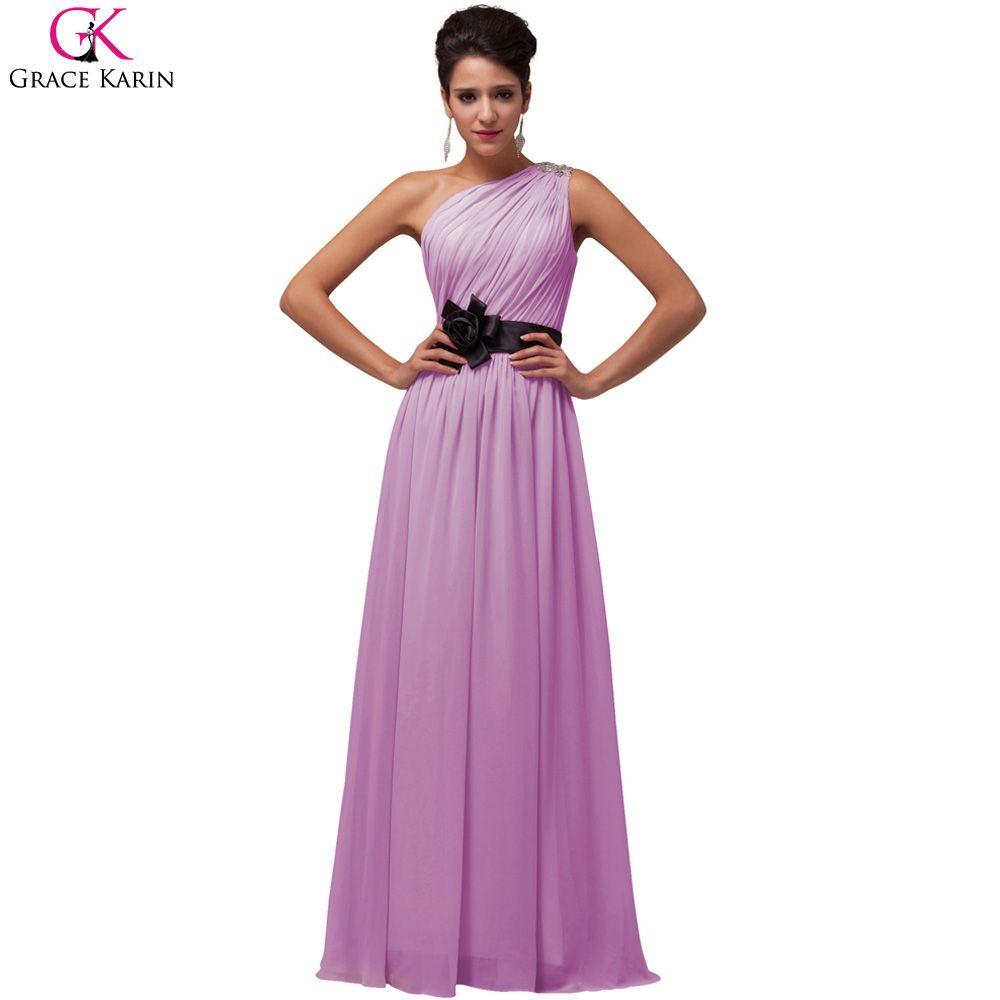 Click to buy ucuc grace karin one shoulder evening dresses elegant