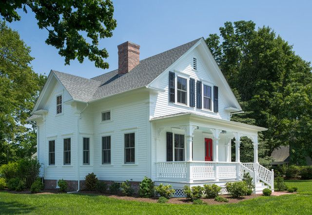 a long shot of this 1890s inspired farmhouse no plans but love the look - Images House Plans 1890 S