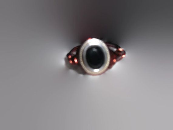 Size 8 Ladies Copper and Silver Wire Wrapped Faceted by missy69
