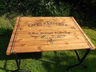 Vintagesavonette Hilfe Die Gaste Kommen Und Wo Stellen Wir Die Glaser Ab Removable Table Diy Couchtisch Diy Erste Hilfe Regalbretter