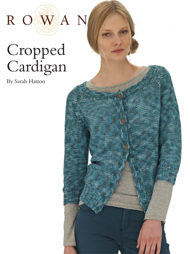 Cropped Cardigan | Cropped cardigan, Knitting patterns ...
