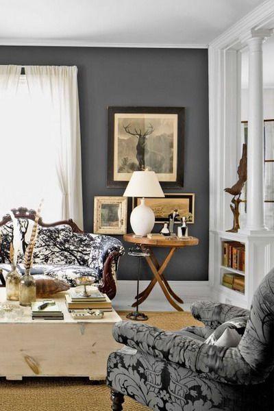 Gray Living Room livingroom interior trends color 2021   Trending decor, Interior house ...