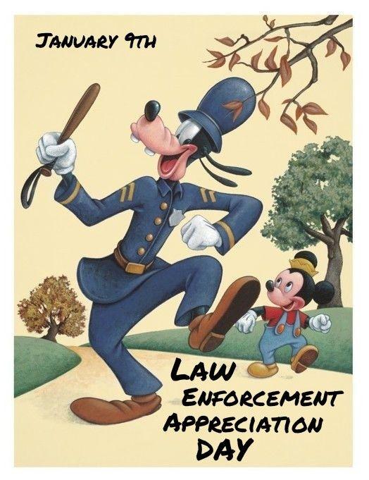 Disney National Law Enforcement Appreciation Day (Jan 9)