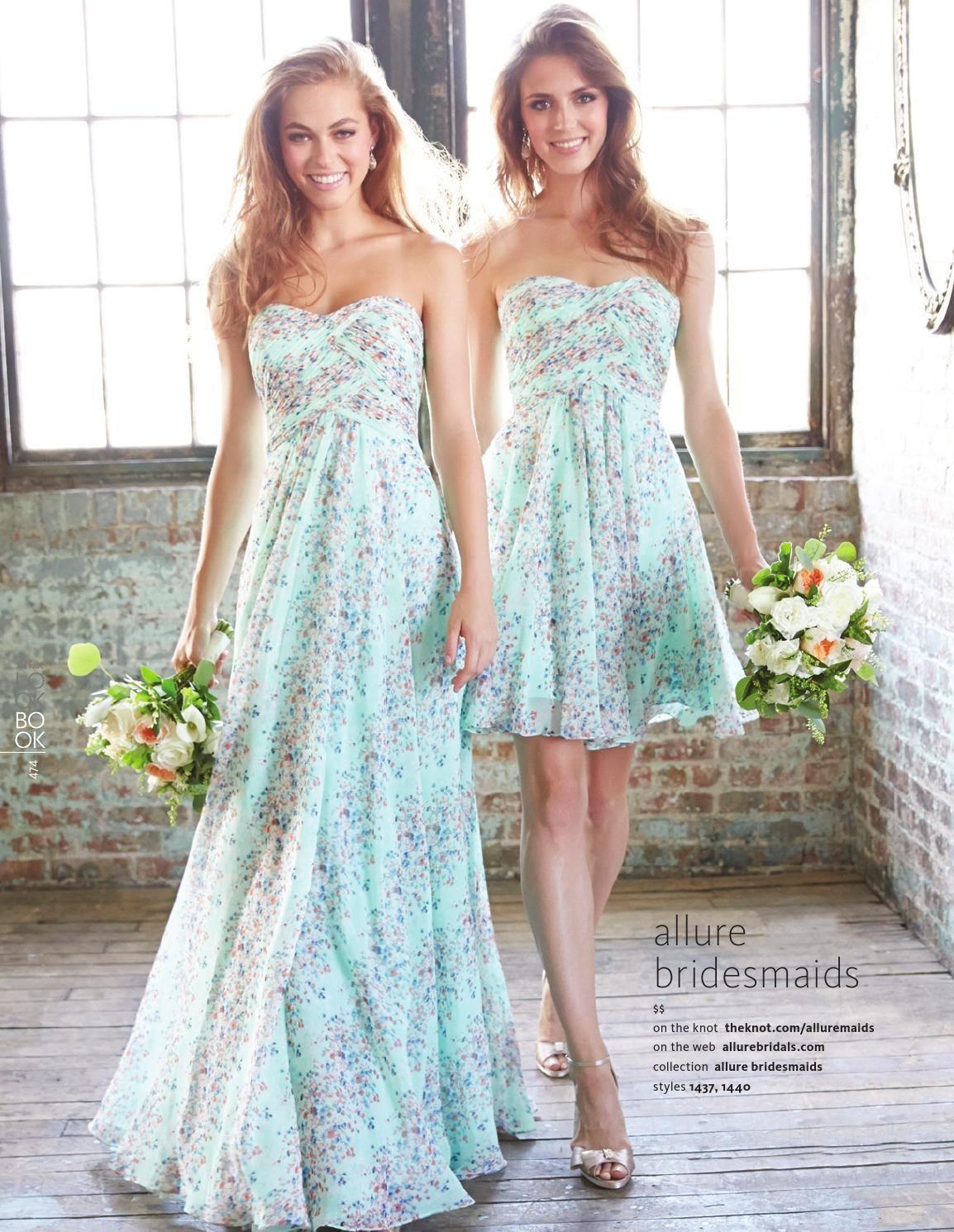 The Knot Winter 2014 | Aqua bridesmaids, Beach bridesmaids and Wedding