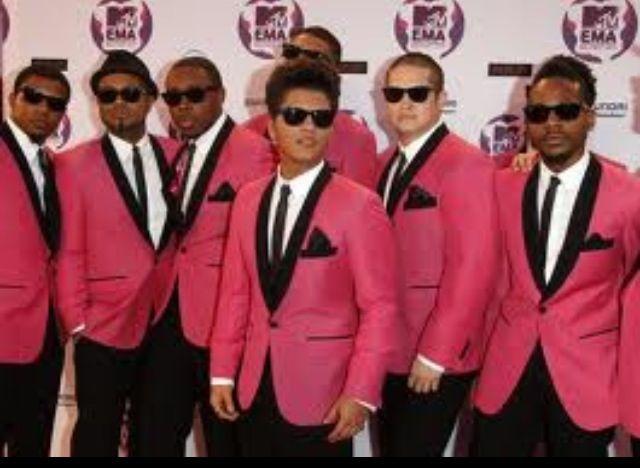 Bruno Mars & Band....Reception...my dreams
