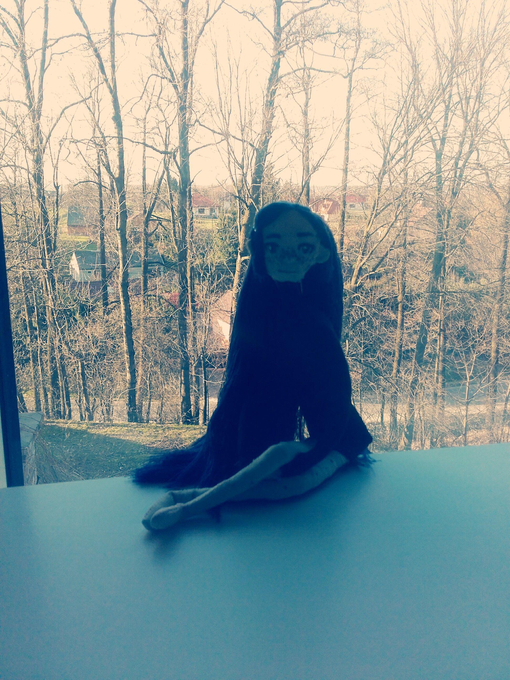 Tiffany The Witch Handmade plush doll malawielkaciutwiedzma.blogspot.com