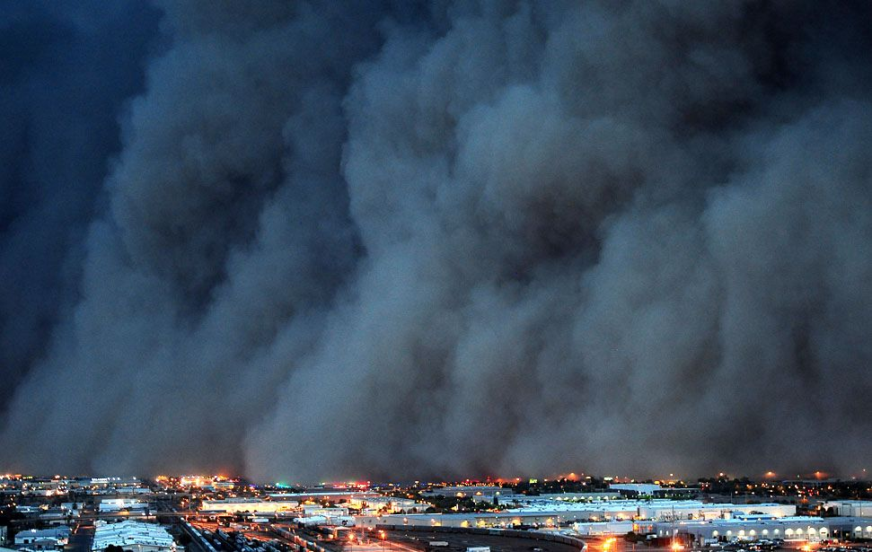 News From California The Nation And World Los Angeles Times Dust Storm Storm Amazing Pics
