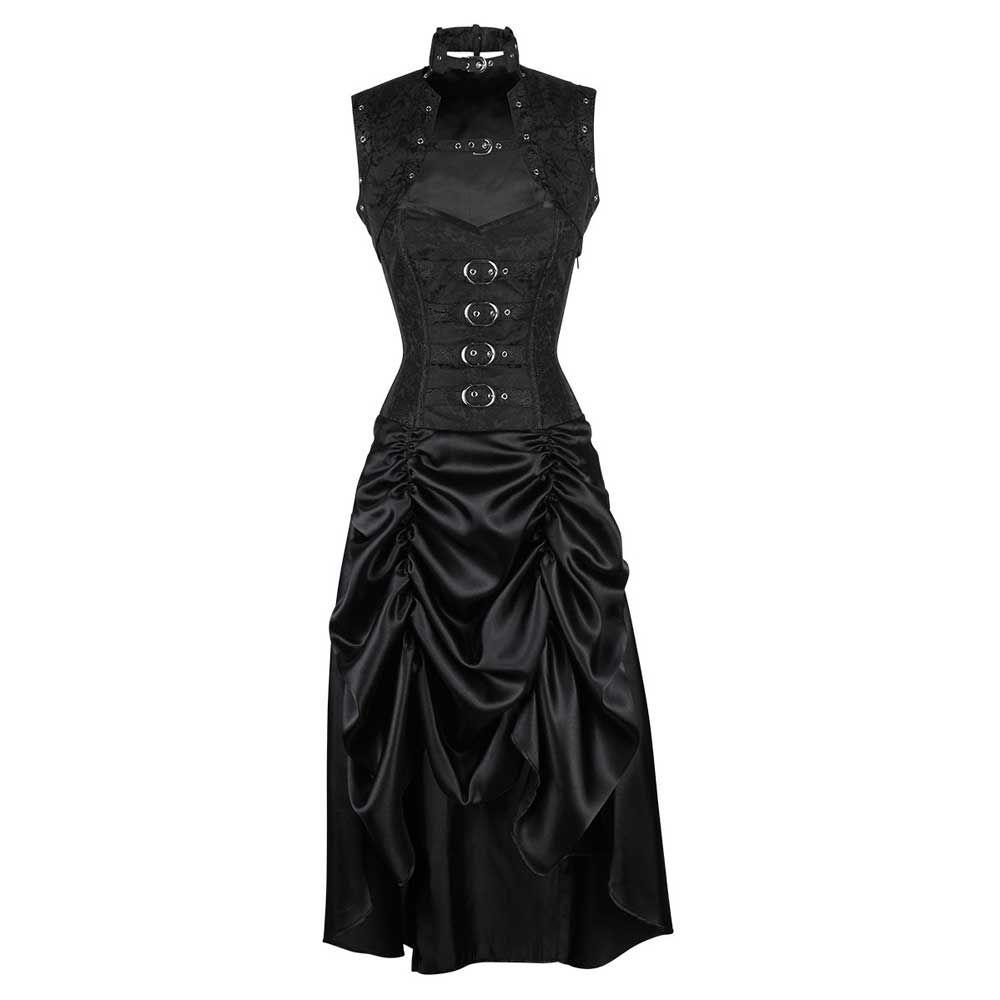 bfa5c7d40323f5 VG London Steampunk korset jurk met bolero