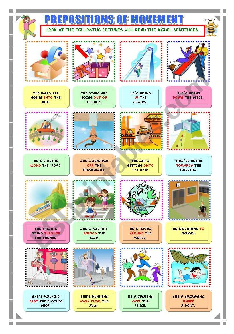 Prepositions Are Hard To Learn And Teach In This Worksheet They