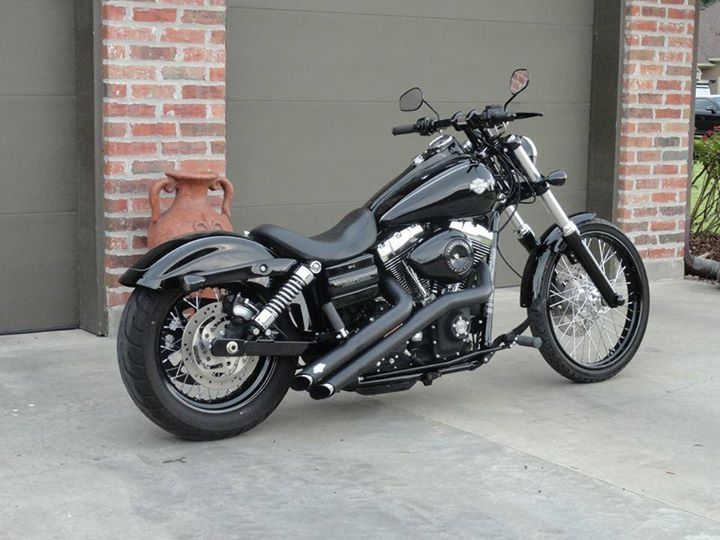 2012 Harley Wide Glide. The perfect modern Harley for me.
