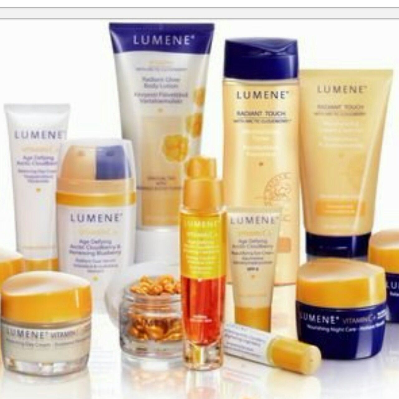 Try Lumene products!