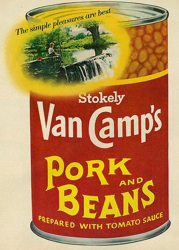 1967 food ad stokely van camp s pork and beans