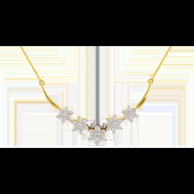 c2ec10323feec ORRA Diamond Tanmaniya   Things to Wear   Diamond, Gold necklace ...