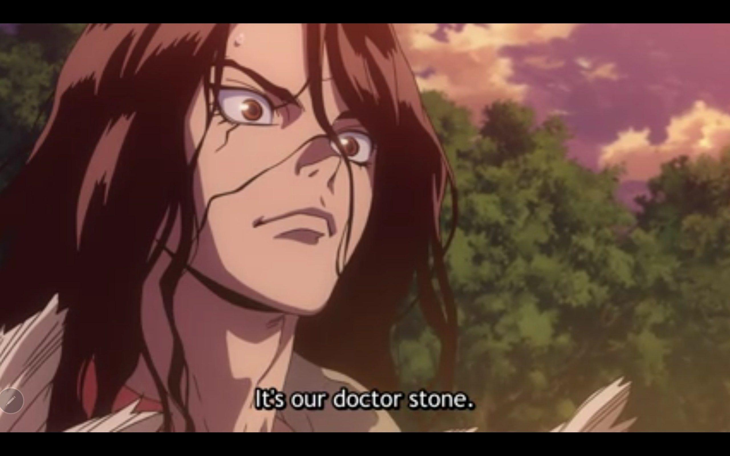 Dr. Stone's Identity Revealed! (episode 2) » to