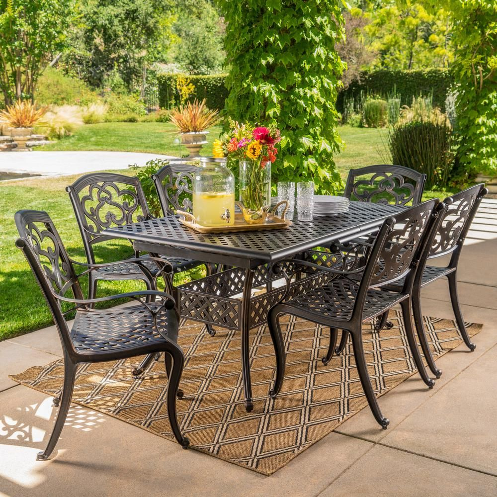 Wrought Iron Patio Table And Chairs Home Depot