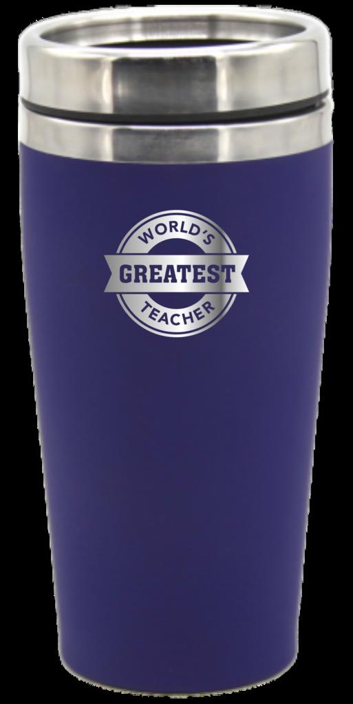 World's Greatest Teacher 475ml Travel Mug Coffee Flask