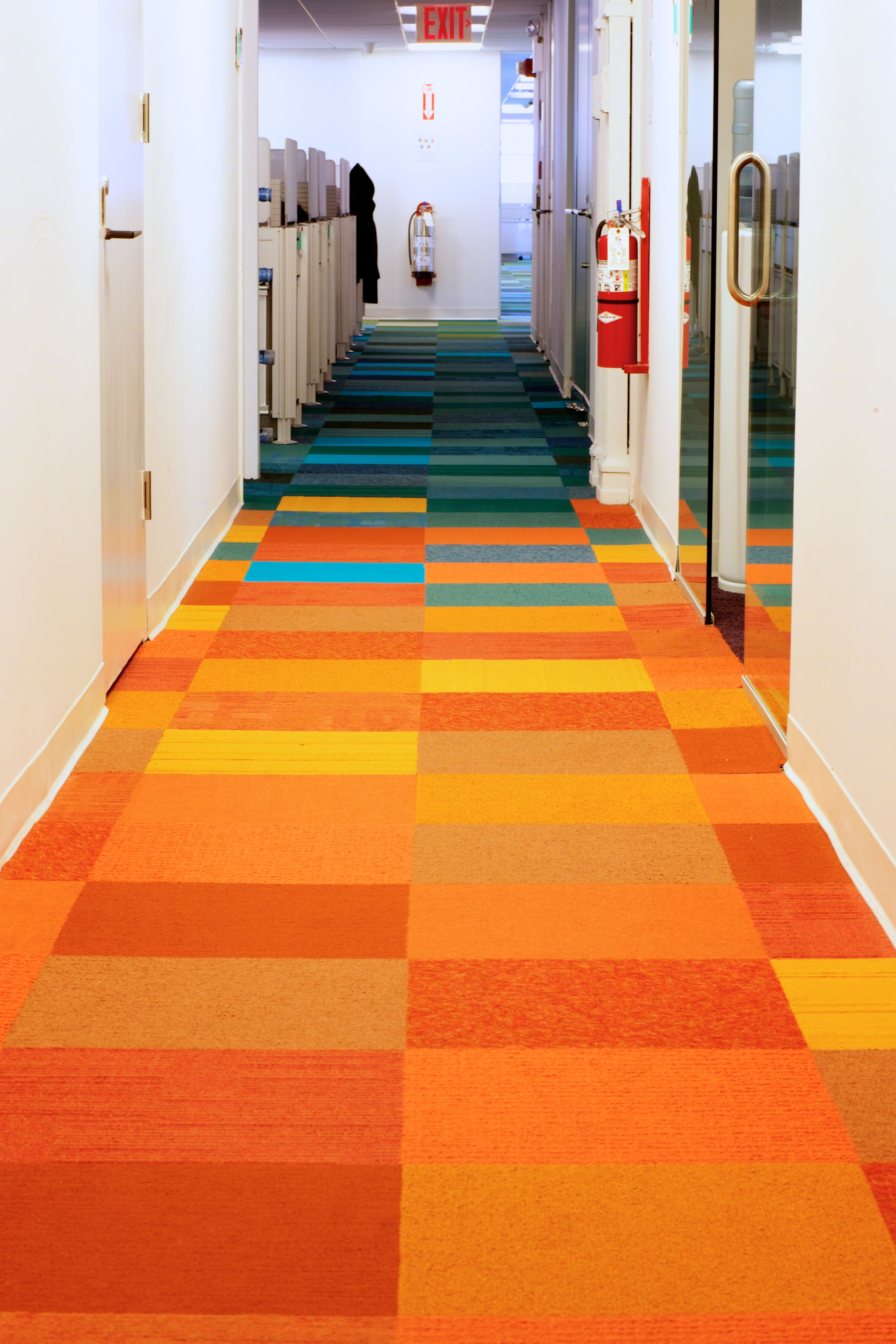 Hallway floor orange mosaic school refurb pinterest hallway hallway floor orange mosaic office carpetoffice dailygadgetfo Choice Image