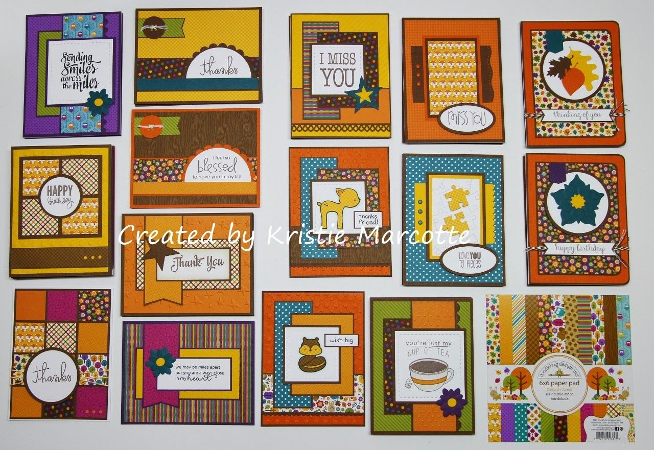 Paper Pads For Card Making Part - 19: Lots Of Cards From A 6x6 Pad | Paper Crafting | Pinterest | Cards, Card  Ideas And Cardmaking