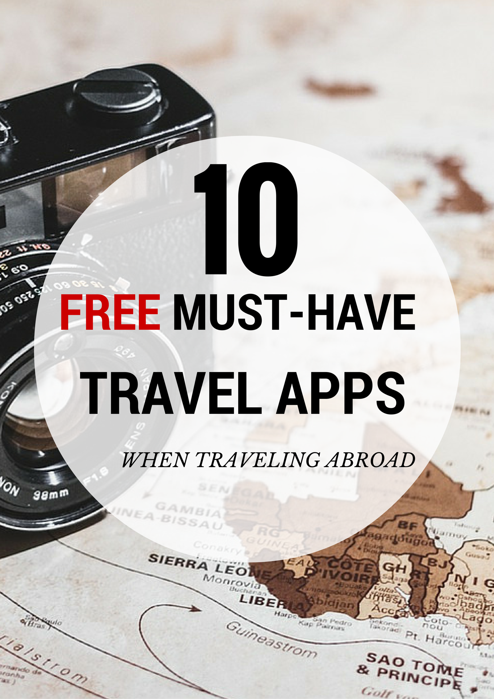 Extremely Helpful Apps You Should Have When Travelling